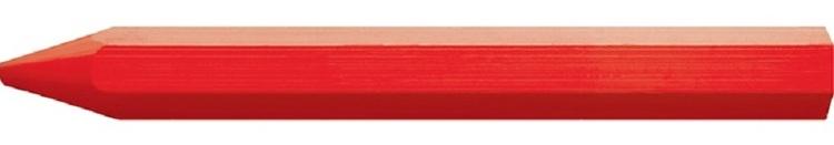 Märkkritor 12 st för trä, stål, sten mm, rött