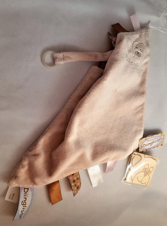 Dinglis, Snuttefilt med napphållare, Kanin