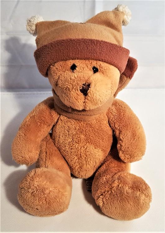 Teddykompaniet, mjukis, nalle med mössa