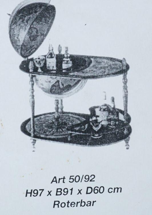 Zoffoli jordglobsbar med bord, diameter 60 cm