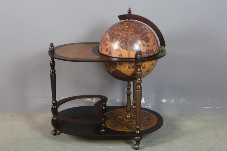 Zoffoli jordglobsbar med bord, diameter 51 cm