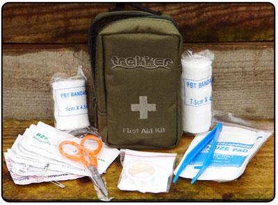 Trakker First Aid Kit, Första hjälpen-utrustning  14x9x4.5 cm