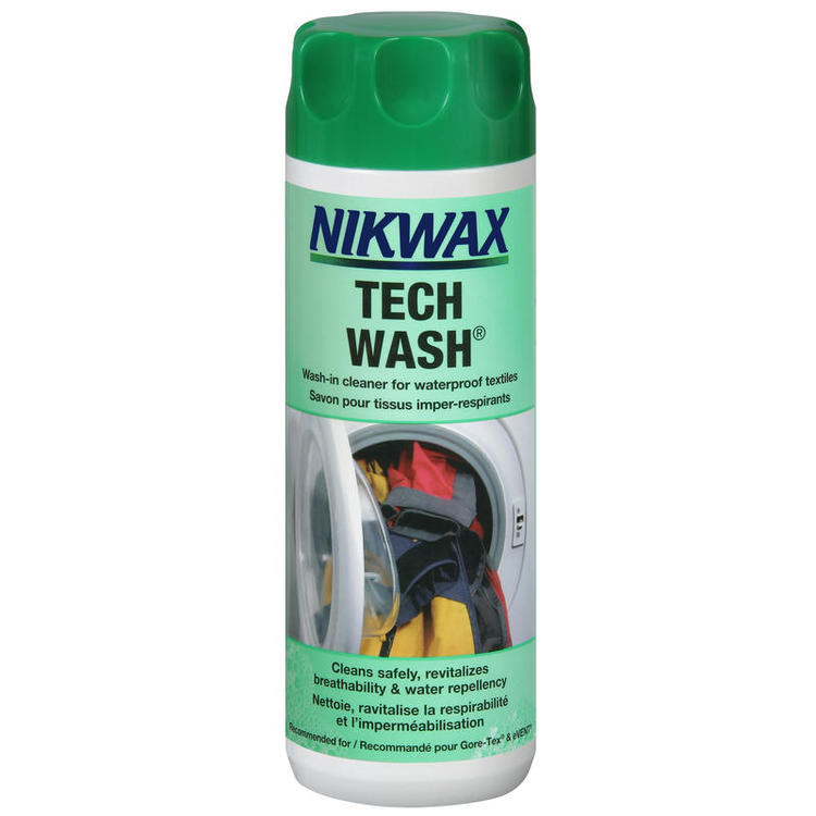 Nikwax Tech Wash. Rengöringsmedel för vattentäta textilier, 300 ml