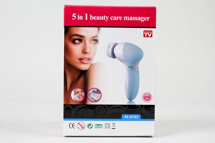 5 in 1 beauty care massager, batteridriven