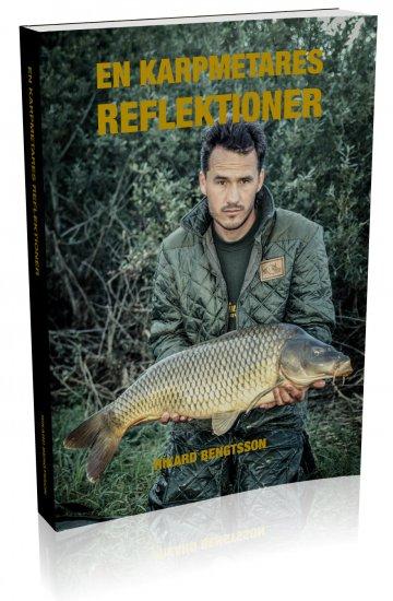 Bok 'En karpmetares reflektioner' av Rikard Bengtsson. Omkring 190 sidor