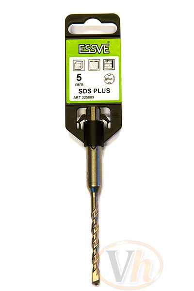 Hammarborr Essve, SDS Plus, D: 5,0 mm, 160/100 mm
