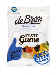 De Bron Fruit Gums Sockerfri 100g
