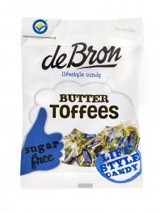 De Bron Butter Toffees Sockerfri 100g
