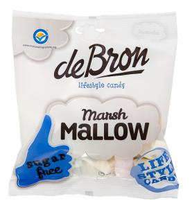 De Bron Marshmallows Sockerfri 75g