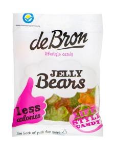 De Bron Jelly Bears Sockerfri 100g