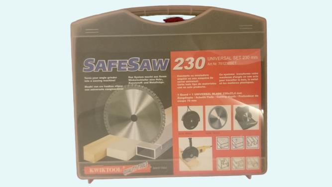 Kwiktools Safesaw Set med universalklinga 230 mm