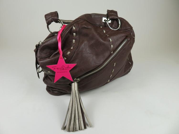 Snygg mörkbrun väska