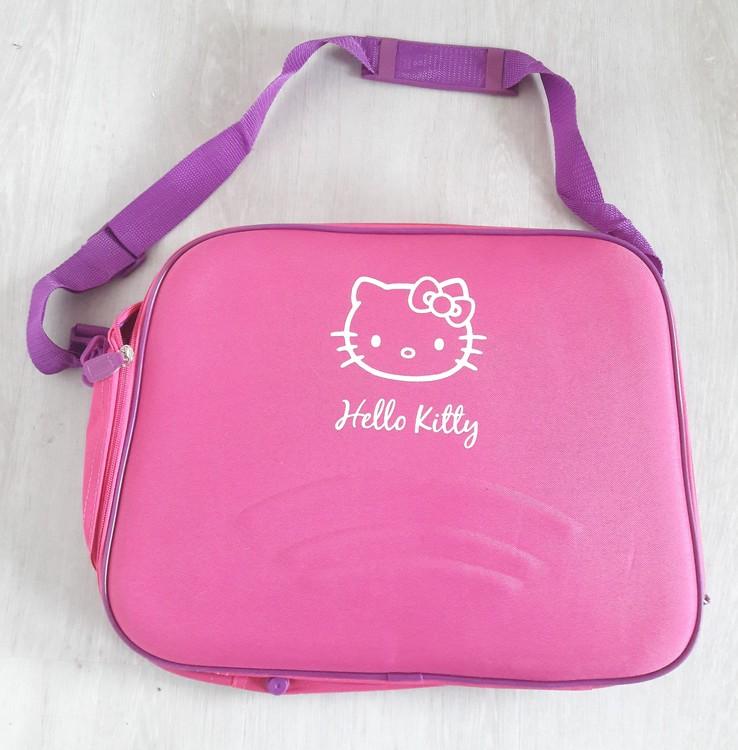 Superfin Hello Kitty axelväska, rosa