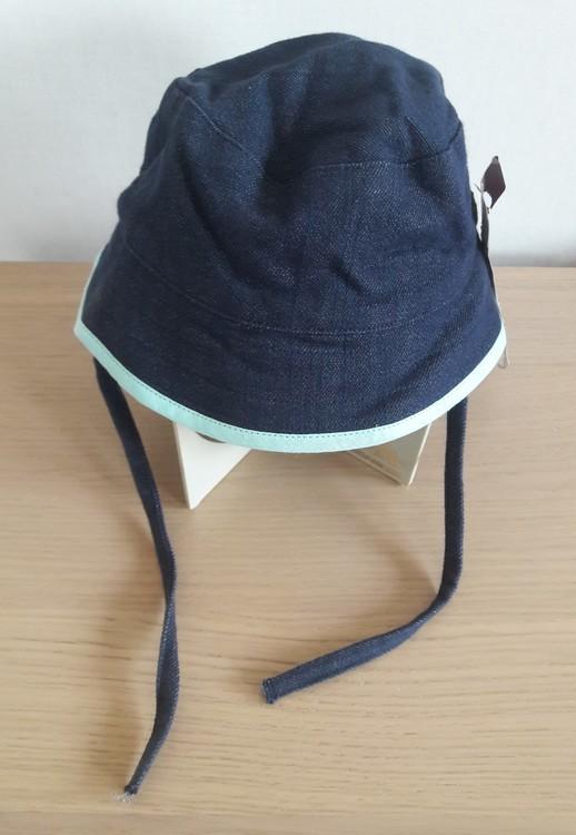Ziestha sommarhatt Mini för barn, mörkblå, storlek Medium