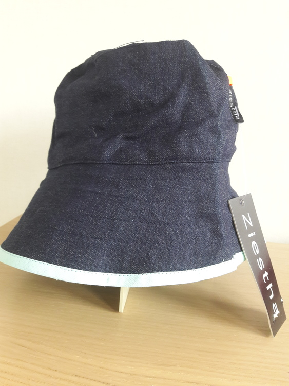 Ziestha sommarhatt, mörkblå, storlek Large