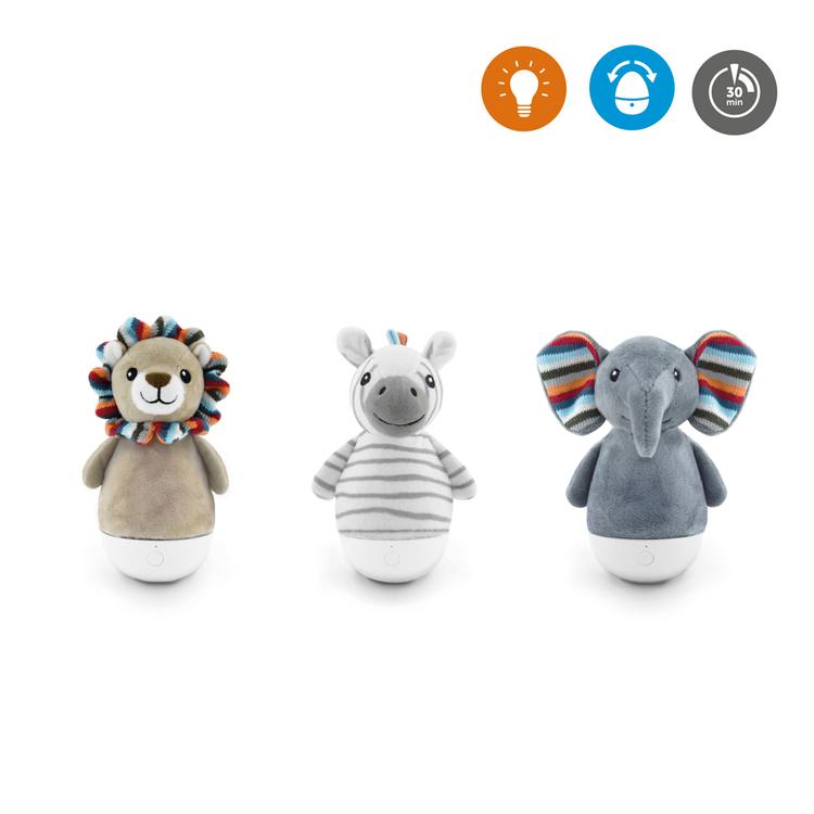 ZAZU Elli Elefant Vippleksak och nattlampa