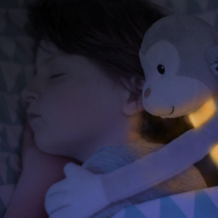 ZAZU Mjukdjur med nattlampa och speldosa