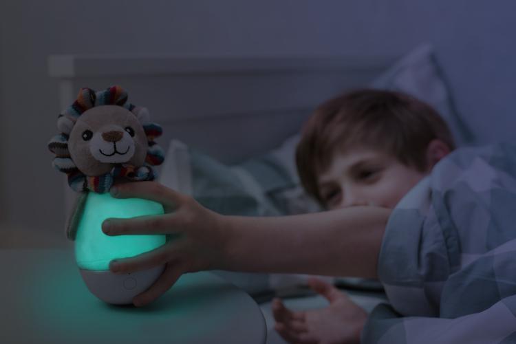 ZAZU Lex Lejon Vippleksak och nattlampa