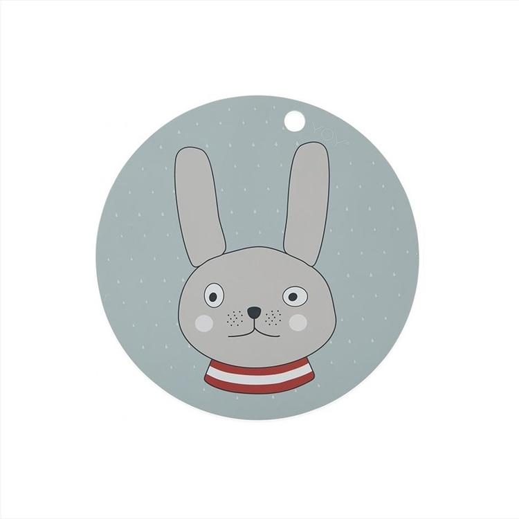 OYOY Silikonunderlägg Rabbit