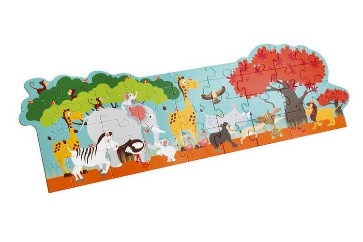 Scratch Golvpussel Safari