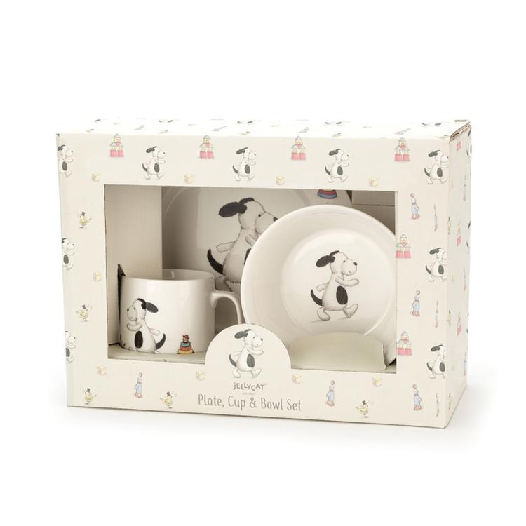 Jellycat Bashful Puppy Porslin matset
