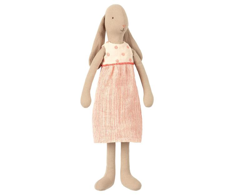 Maileg Bunny size 3, Dress - Off white