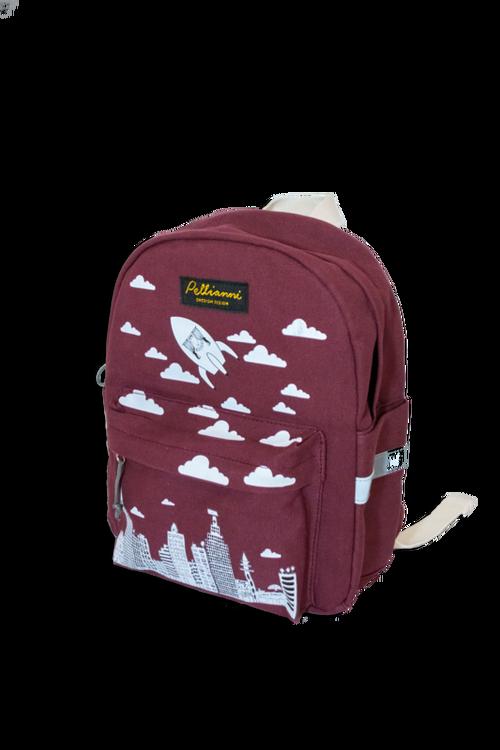 Pellianni City Backpack Red Ryggsäck