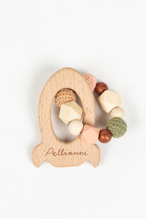 Pellianni Rocket teether Autumn - Bitring