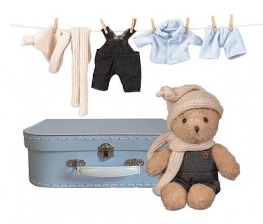 Nallebjörn i väska Les Petits