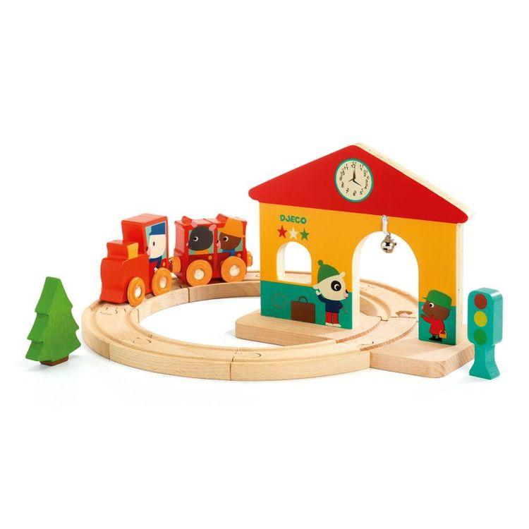 Djeco Tågbana i trä