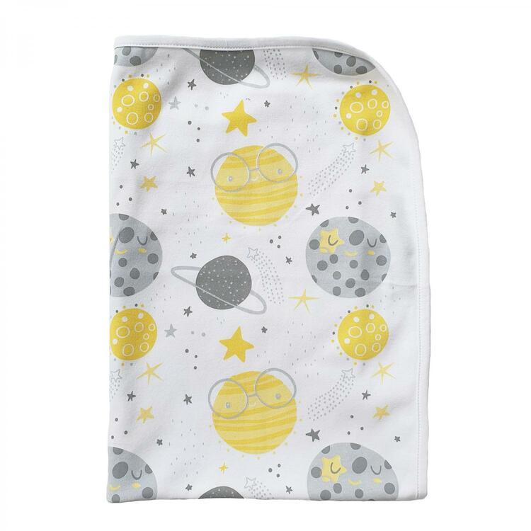 Summerville Babyfilt moon yellow