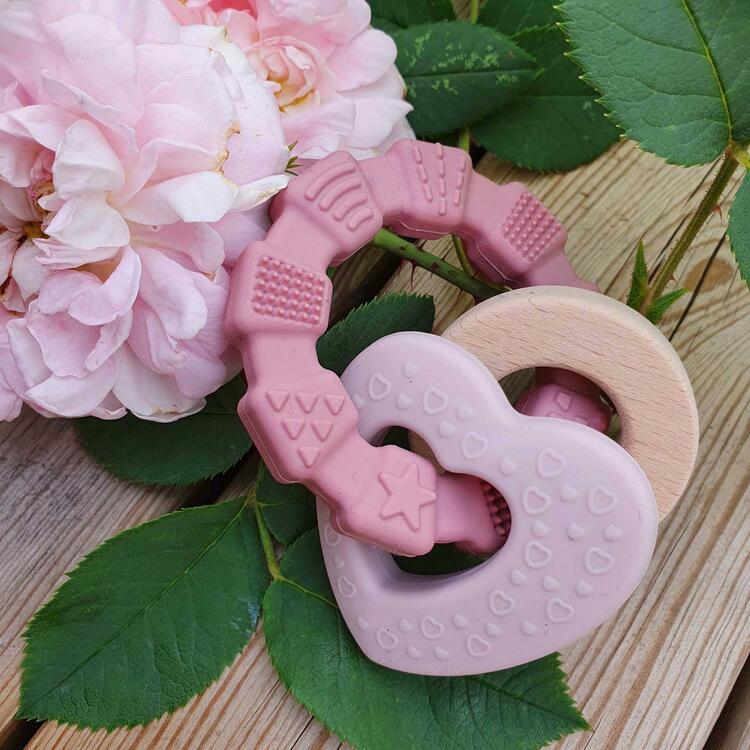 Summerville Bitring Hjärta rosa
