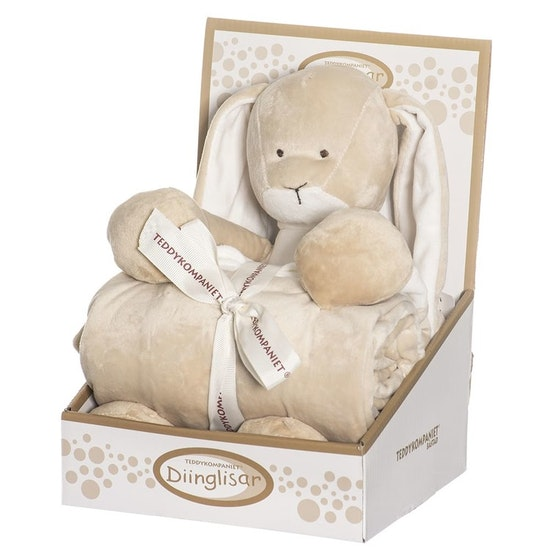 Teddykompaniet Kanin & Filt