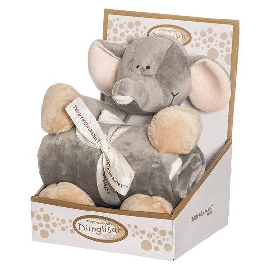 Teddykompaniet Elefant & Filt