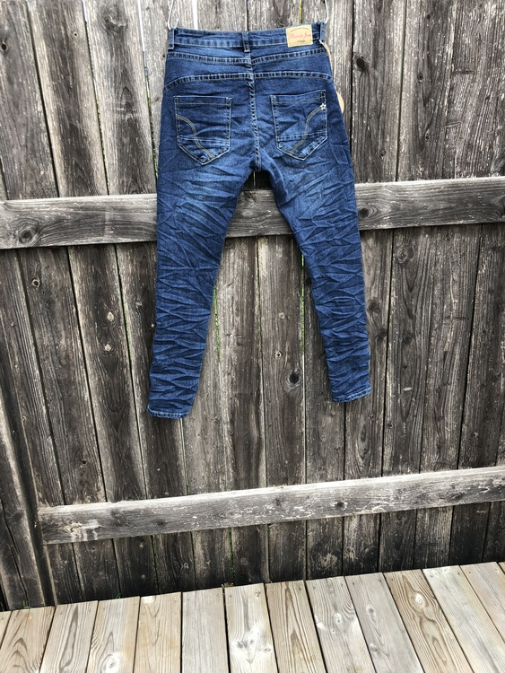 Place du jour Jeans mörkblå ny färg