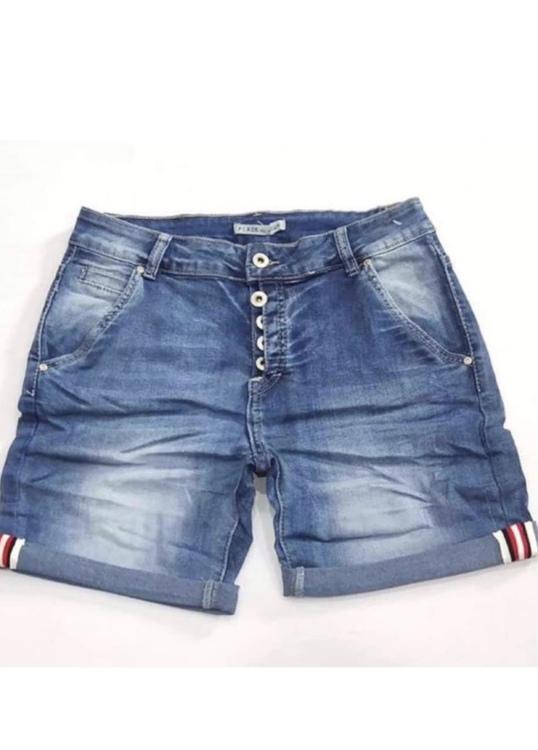 Place du jour shorts med revär