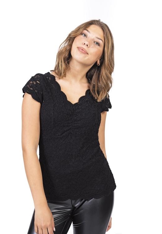 Capri collection VERONA TOP BLACK