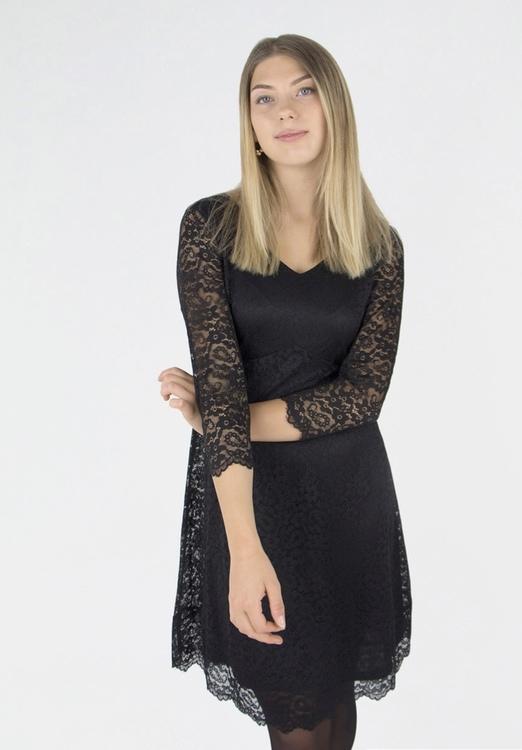 Capri Collection VICTORIA DRESS BLACK