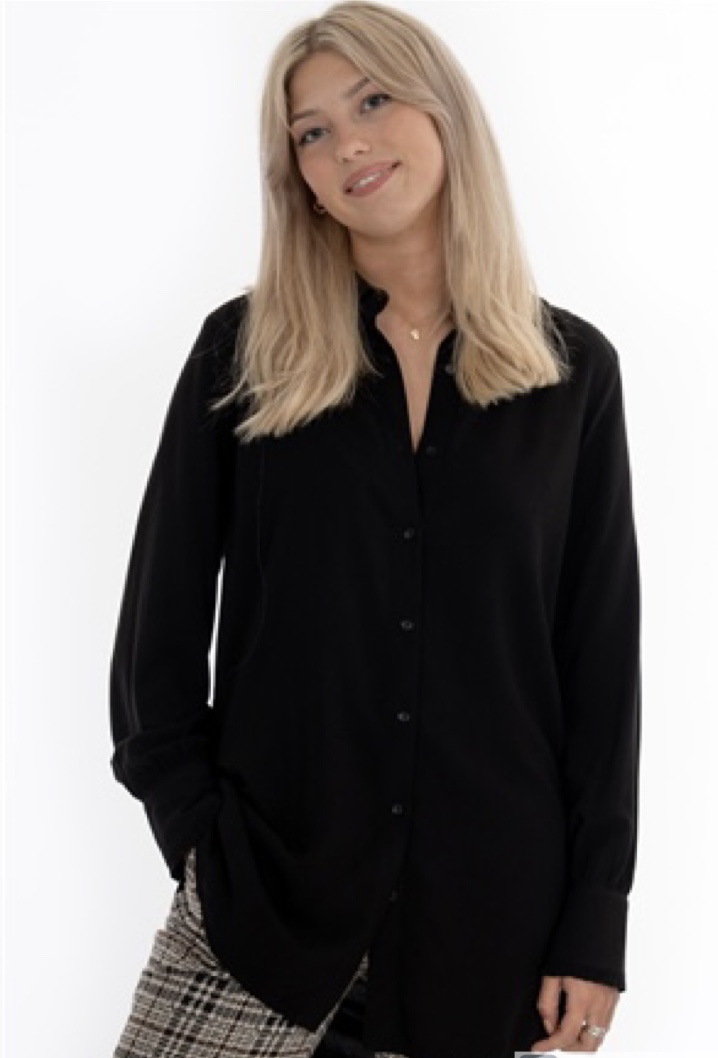 capri collection Caroline Blus - Svart