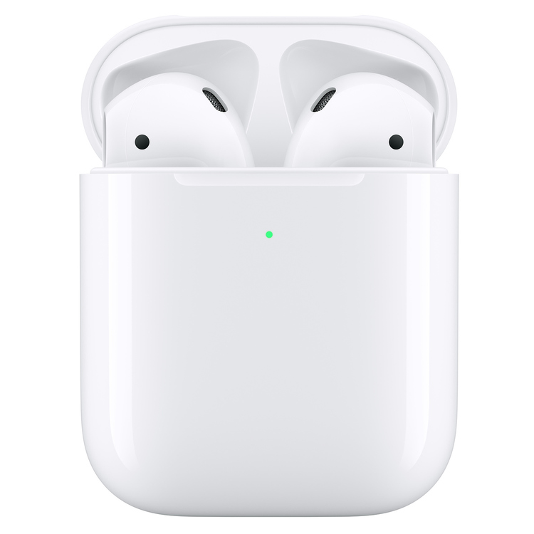 AirPods Apple med laddningsetui