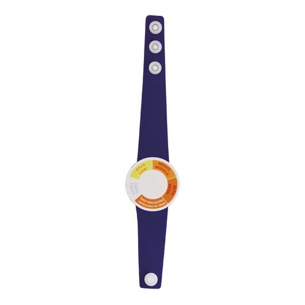Armband med UV-strålningsmätare
