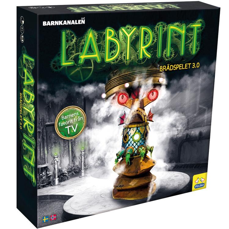 Labyrint Brädspel Peliko 3.0