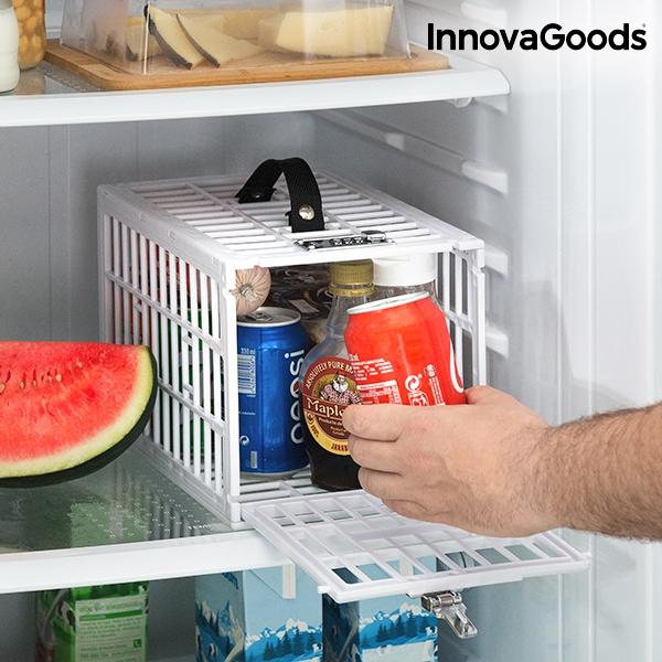 Låsbar bur för kylskåp eller frys