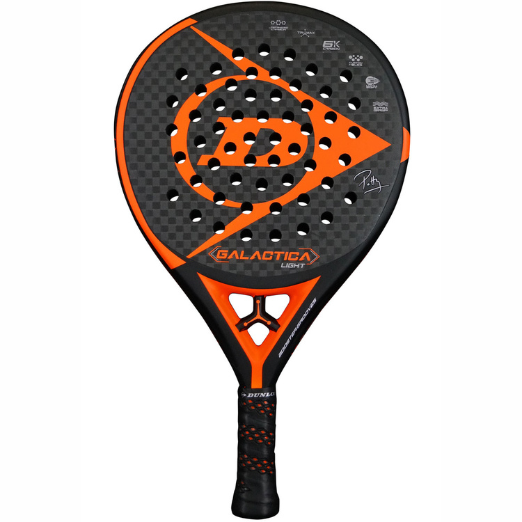 Padelracket Dunlop Galactica Orange Light