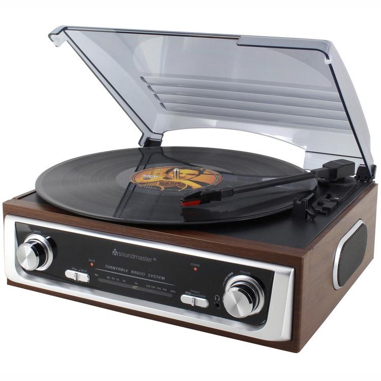 Skivspelare Soundmaster Retro 70-tal