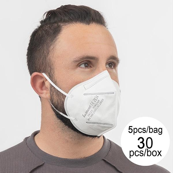 Ansiktsmask Skyddande FFP2 30-pack