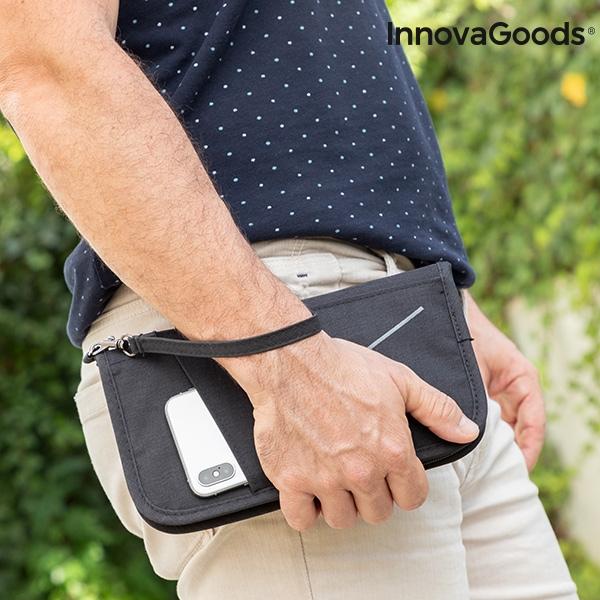 Handledsväska med elektroniskt stöldskydd