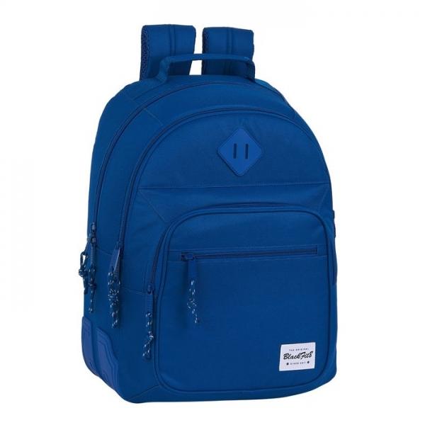 Skolryggsäck Oxford Mörkblå