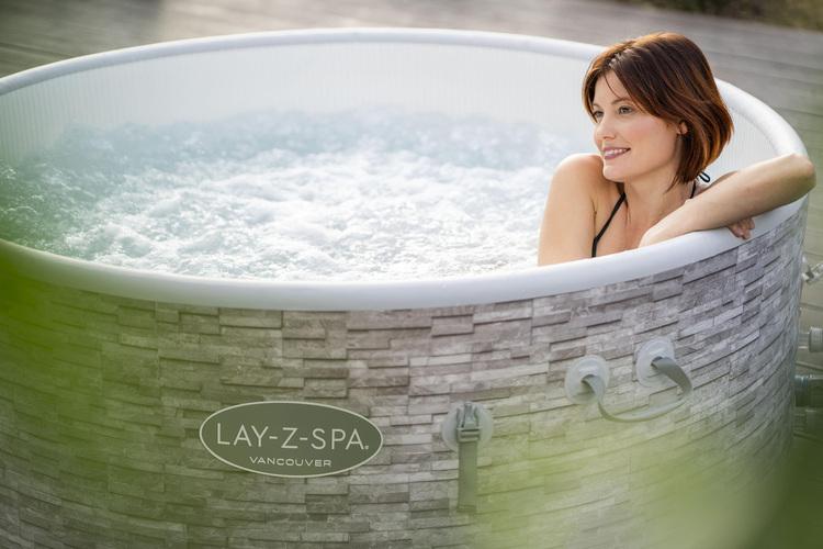 Pool Bestway Lay-Z-Spa® Vancouver AirJet Plus