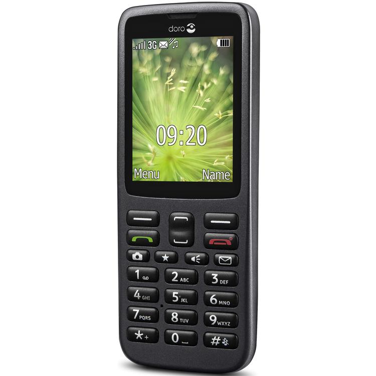 SeniorMobil Doro 5517 3G Grafitgrå